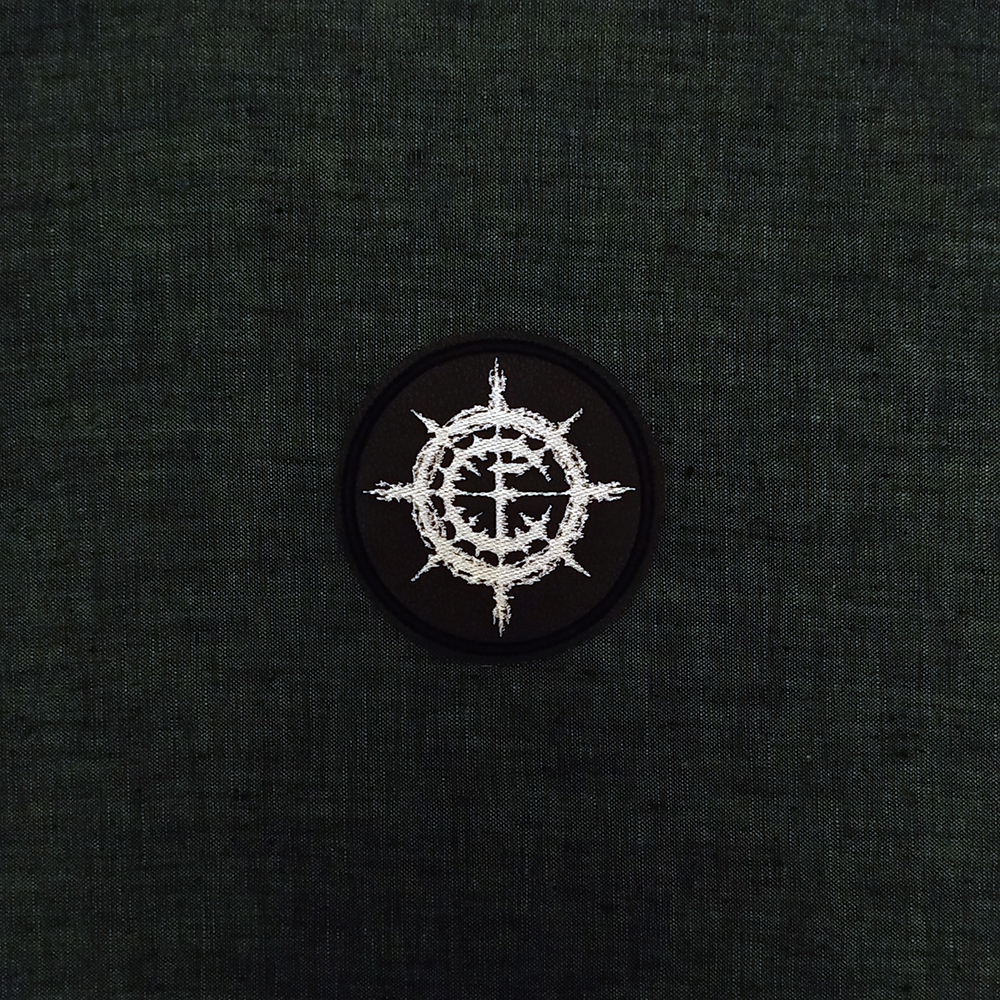 Patch Carpathian Forest symbol Black Metal band on artificial leather.
