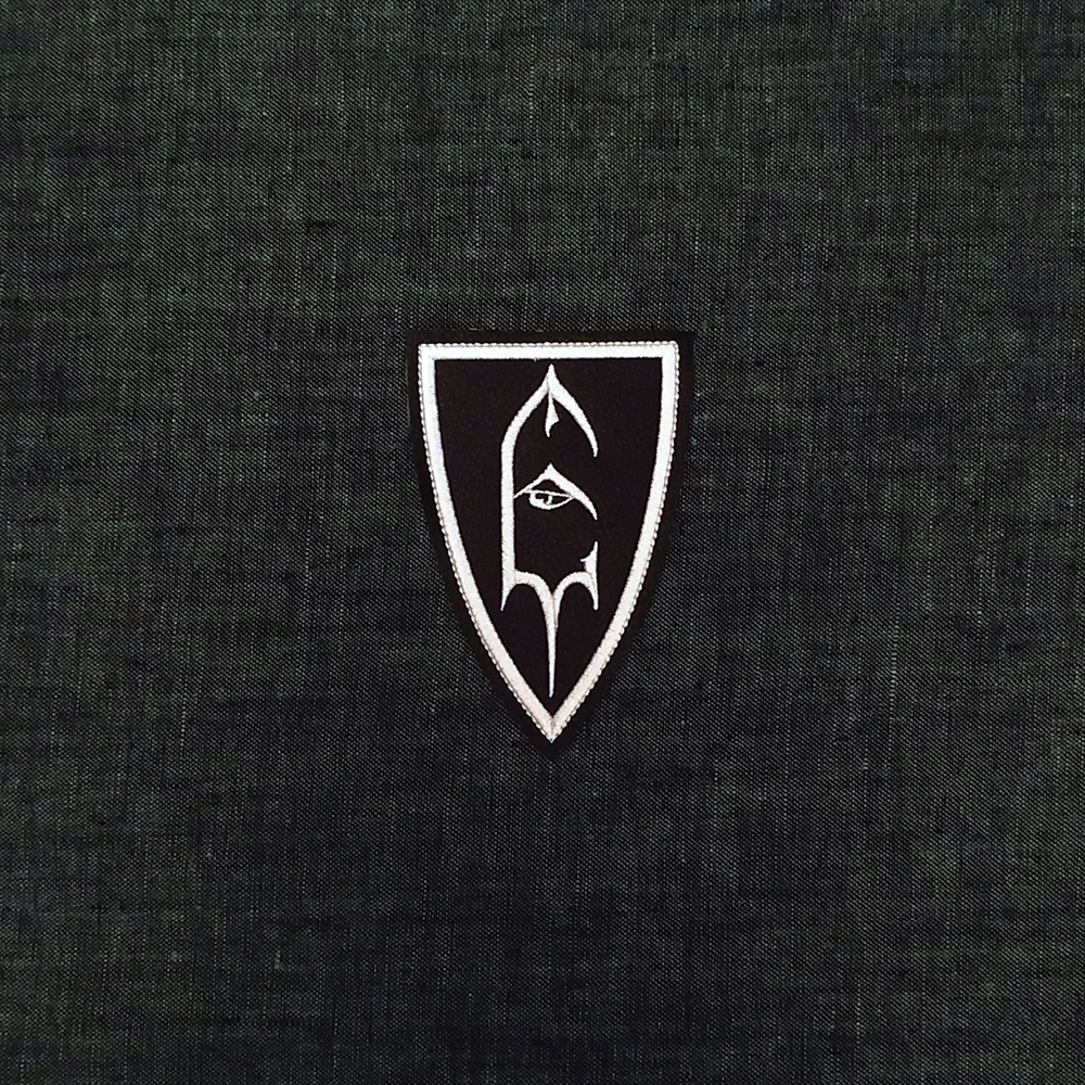 Patch Emperor Symbol Black Metal band on artificial leather.