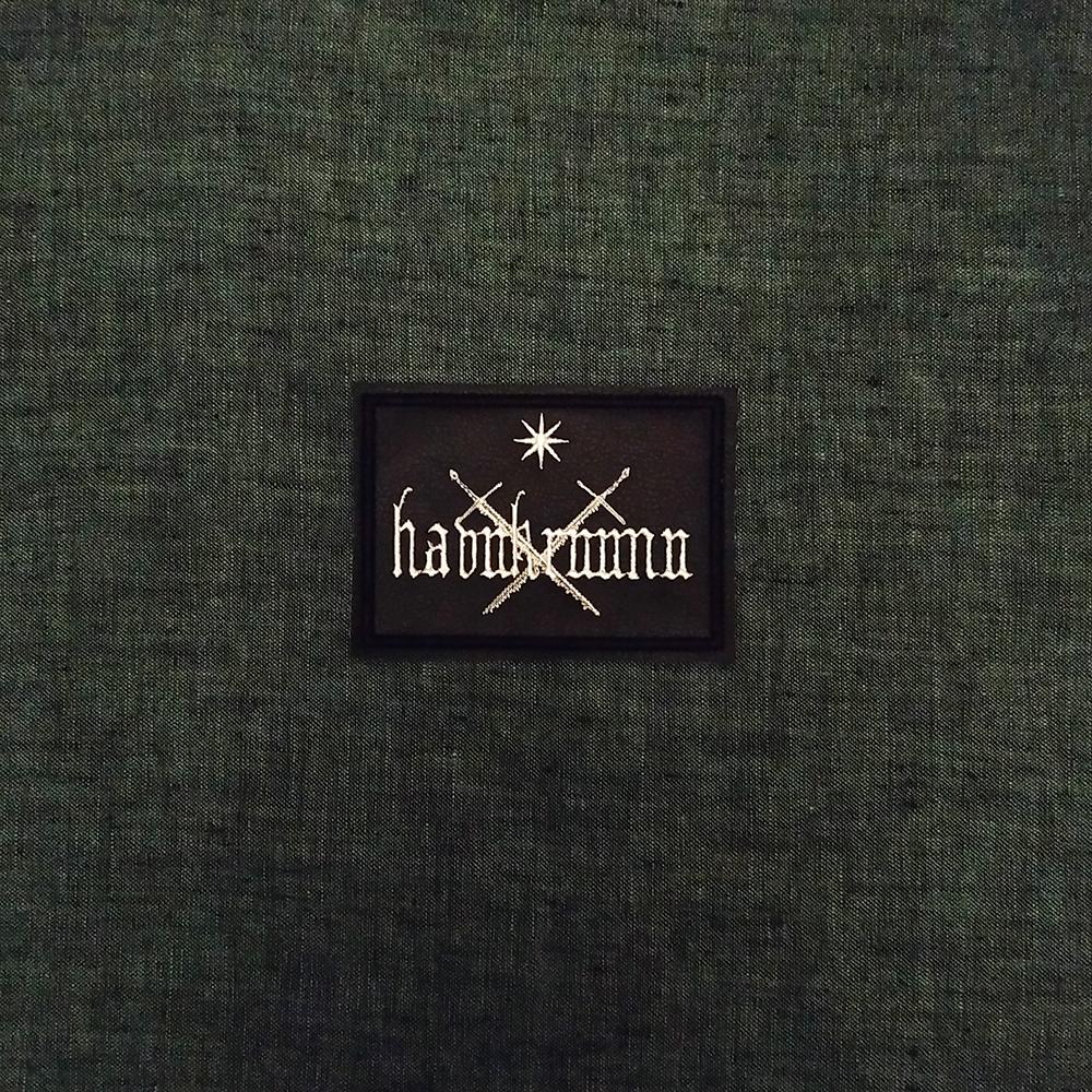 Patch Havukruunu Pagan Black Metal band on artificial leather.