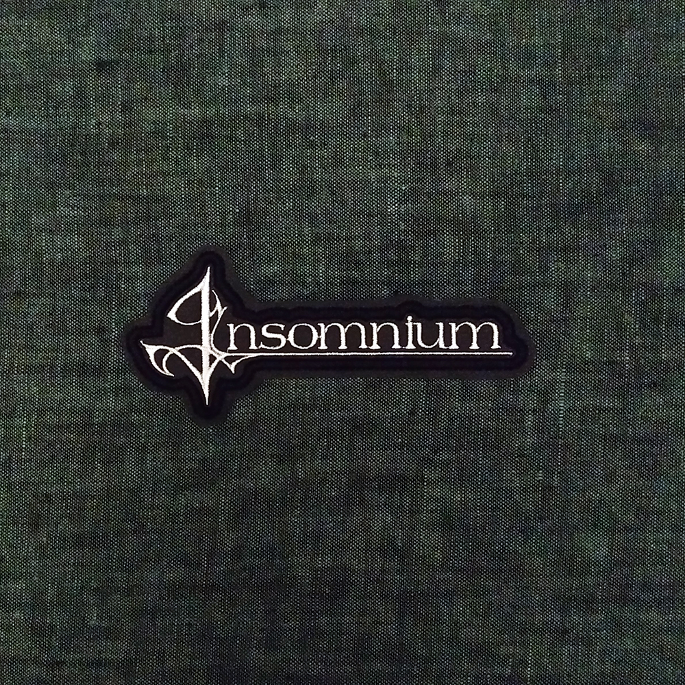 Patch Insomnium Melodic Death Metal band on artificial leather.