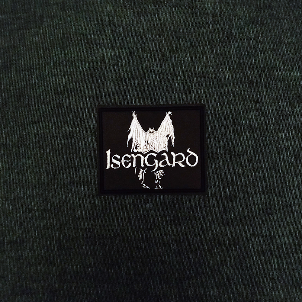 Patch Isengard Folk Black Metal band on artificial leather.