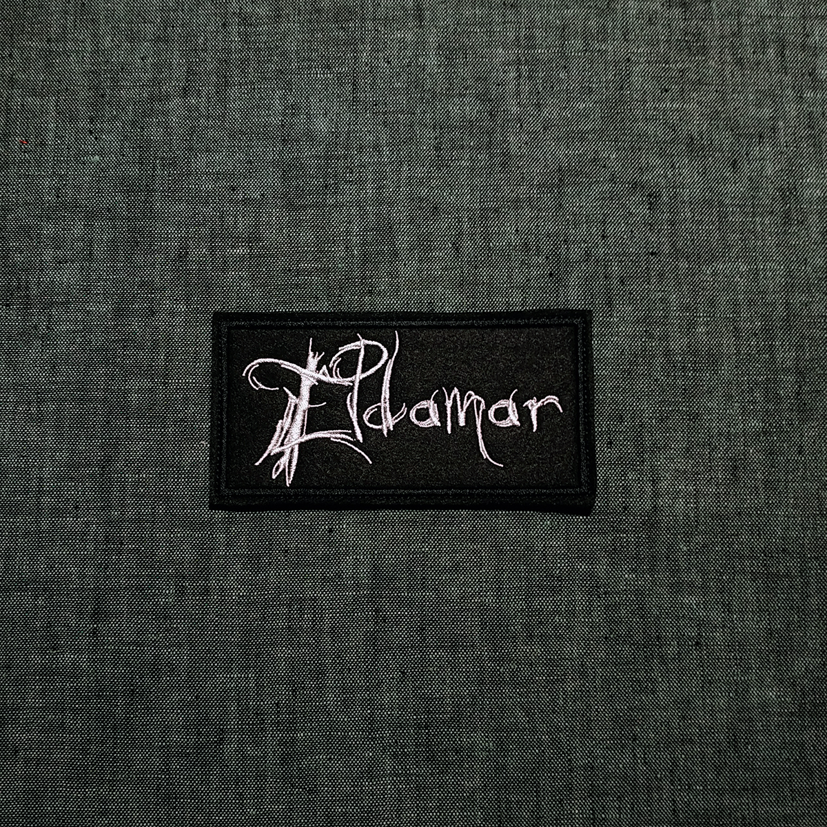Patch Eldamar Black Metal band.