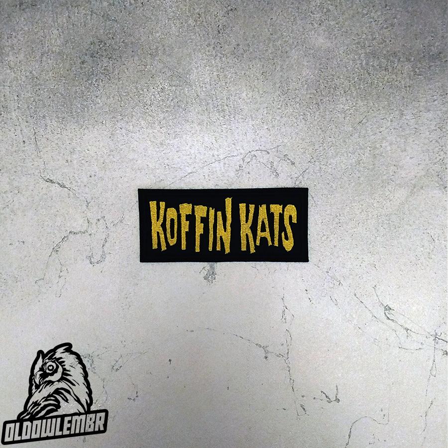 Patch Koffin Kats Psychobilly band.