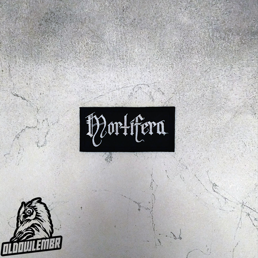 Patch Mortifera Black Metal band.