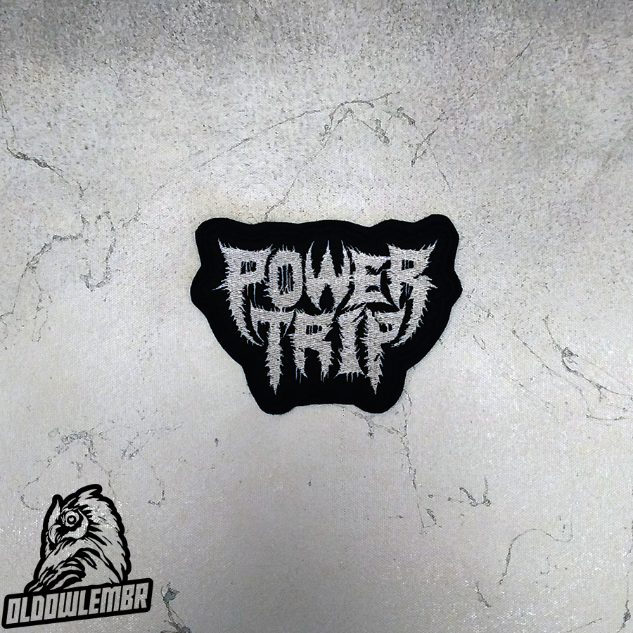 Patch Power Trip Thrash Metal band.