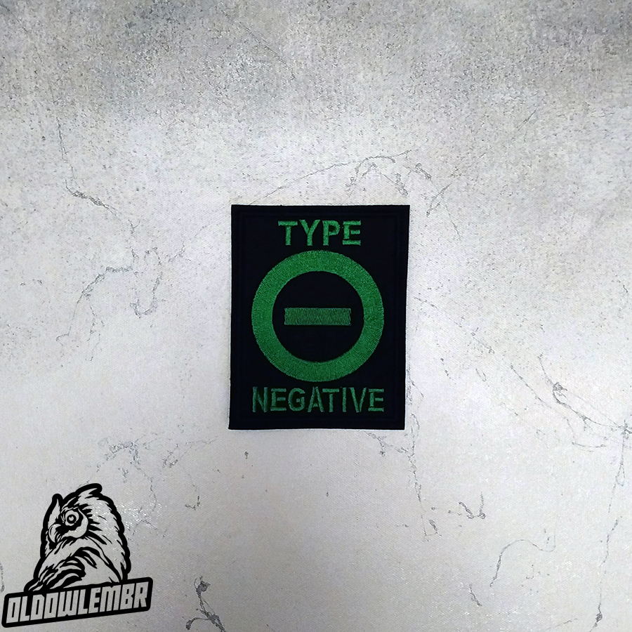 Patch Type O Negative Doom Metal band.