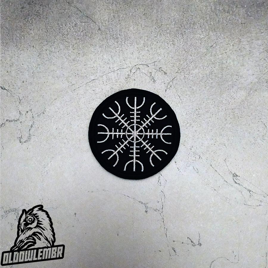 Patch Viking Aegishjalmur.