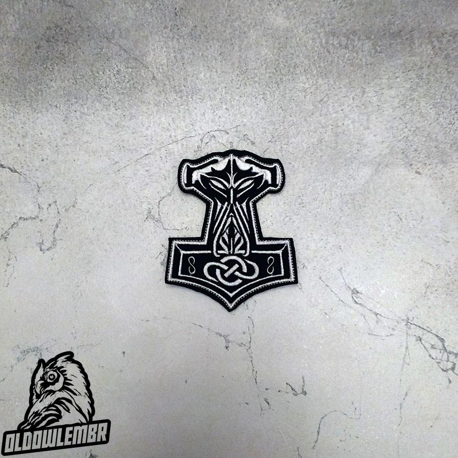 Patch Thor's Hammer Viking Mjolnir.